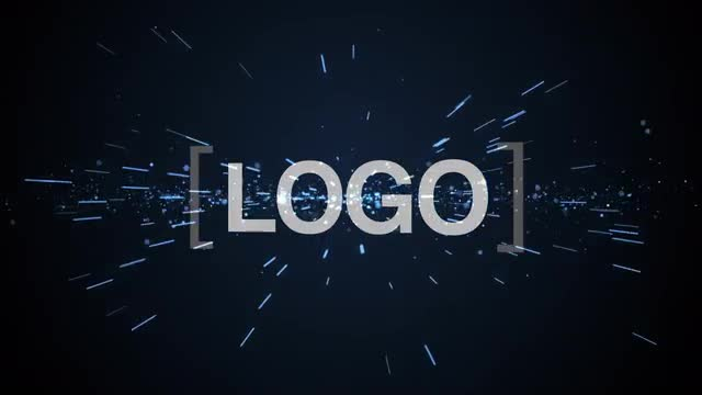 Galaxy logo after effects template