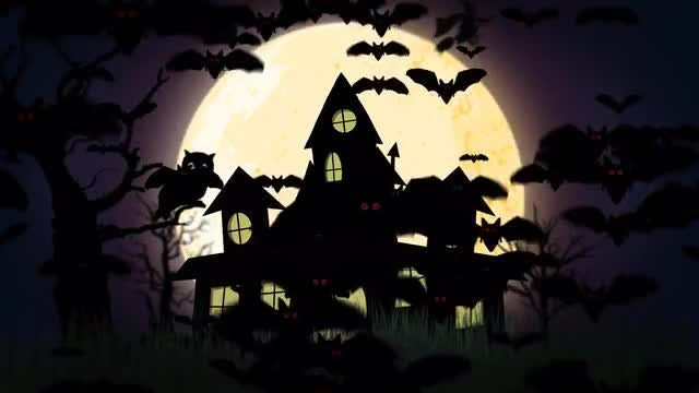 Haunted House: Stock Motion Graphics