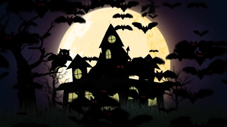 Haunted House: Motion Graphics