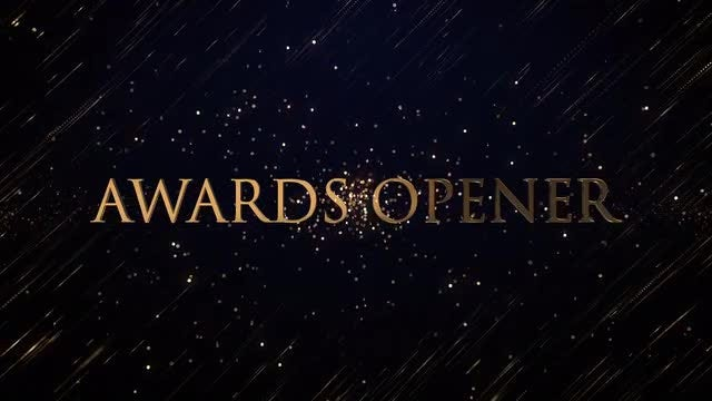 Awards Opener: After Effects Templates