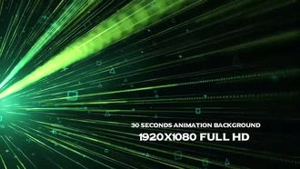 Data Stream Background: Motion Graphics