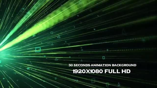 Data Stream Background: Stock Motion Graphics