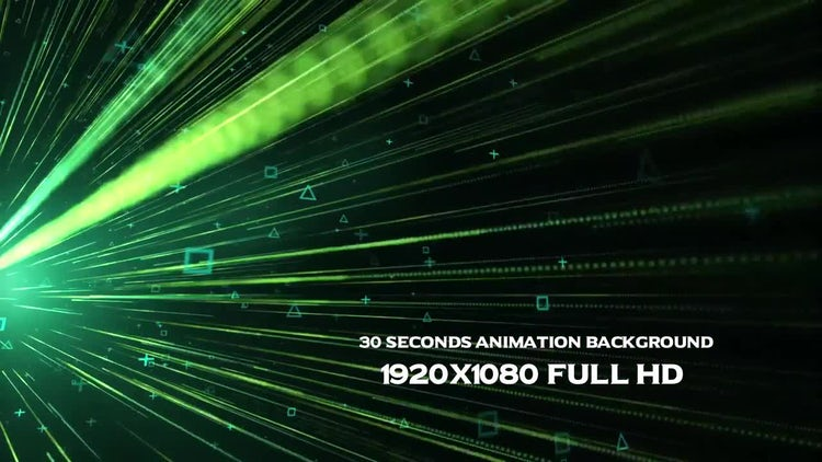 Data Stream Background: Motion Graphics
