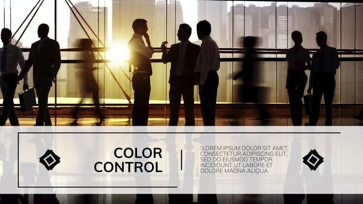 Line & Cube Corporate: After Effects Templates