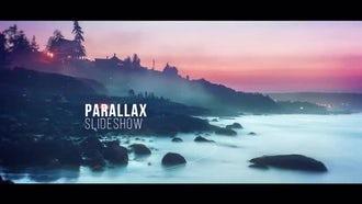 Slideshow - Cinematic Parallax: Premiere Pro Templates
