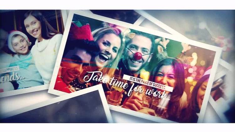Christmas Brush Memory: After Effects Templates