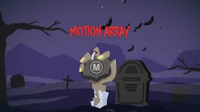 Halloween Logo: After Effects Templates