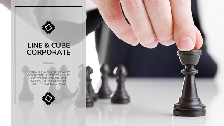 Line & Cube Corporate - Premiere: Premiere Pro Templates