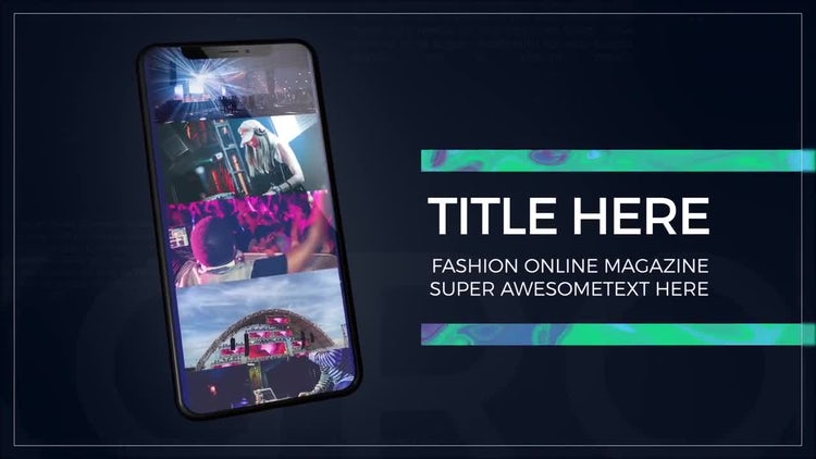 Phone X: After Effects Templates