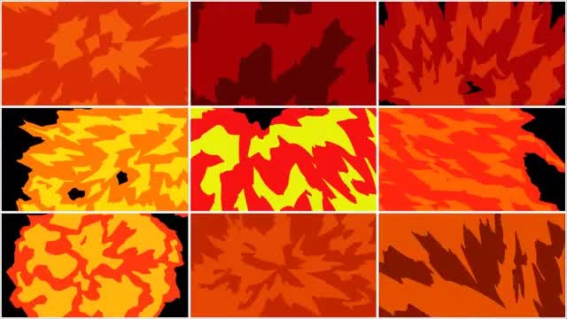 Explosion Transition Pack: Stock Motion Graphics