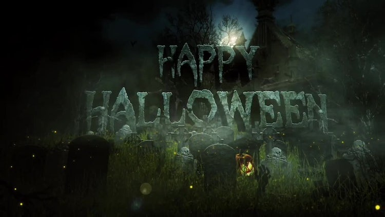 Halloween Logo Reveal: After Effects Templates