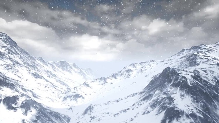Mountains: Stock Motion Graphics
