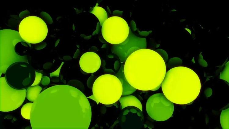 Glowing Spheres Loops Pack: Stock Motion Graphics