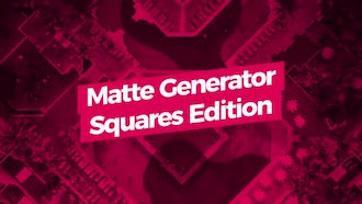 Matte Generator. Squares Edition: Motion Graphics Templates