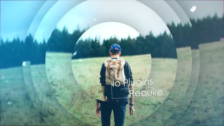 Magnification Opener: After Effects Templates