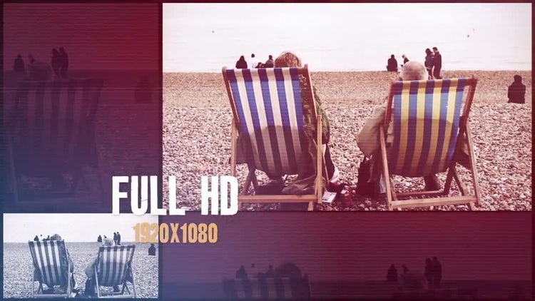 Urban Glitch Slideshow: After Effects Templates