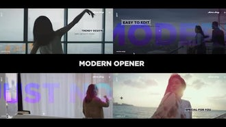 Modern Promo Opener: Premiere Pro Templates