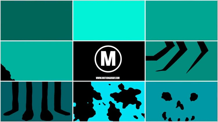 Hand Drawn Transition Pack 8: Motion Graphics