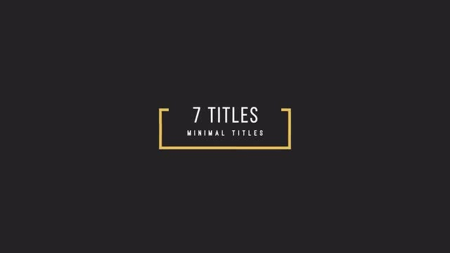 Great Titles: Motion Graphics Templates