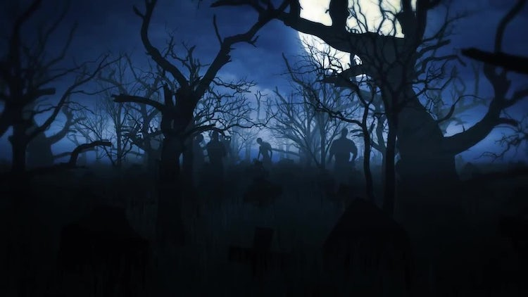 Halloween Background: Motion Graphics