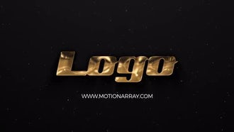 Gold and Silver Logo: After Effects Templates