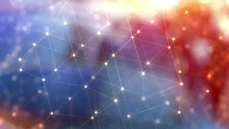 Abstract Particles Glitter Background: Motion Graphics