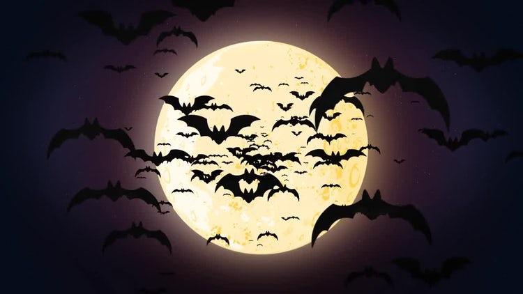 Halloween Bats: Motion Graphics
