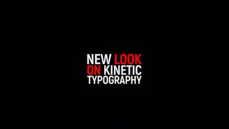Kinetic Typography 2: After Effects Templates