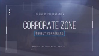 Corporate Zone: After Effects Templates