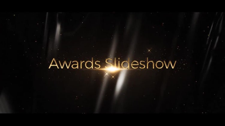 Awards Slideshow: After Effects Templates