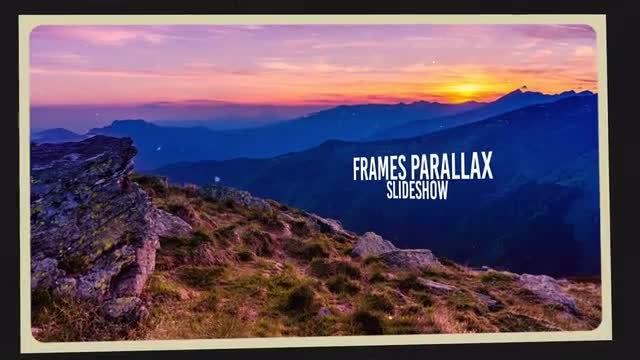 Frames Parallax Slideshow: Premiere Pro Templates