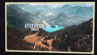 Frames Parallax Slideshow: After Effects Templates