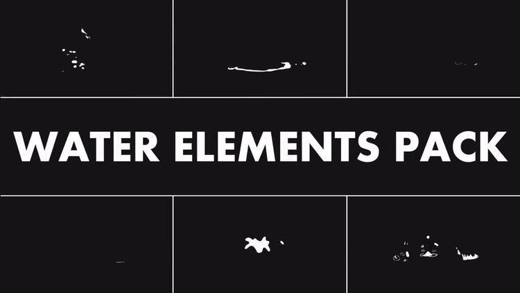 Water Elements Pack: Motion Graphics