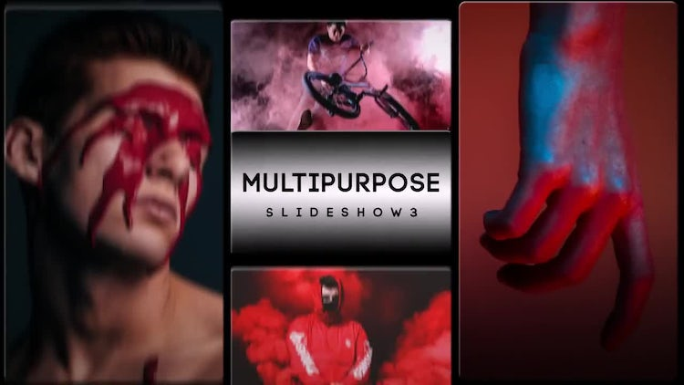 Multi Purpose Slideshow 3: After Effects Templates