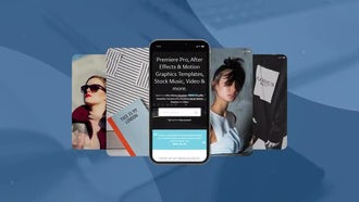 Phone X Promo: After Effects Templates