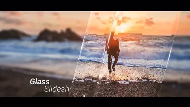 Slideshow - Glass: After Effects Templates