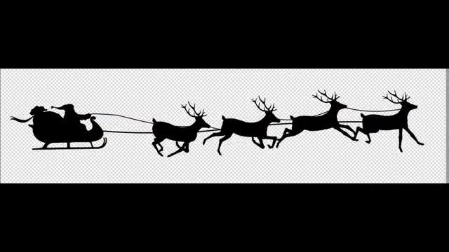 Santa: Stock Motion Graphics