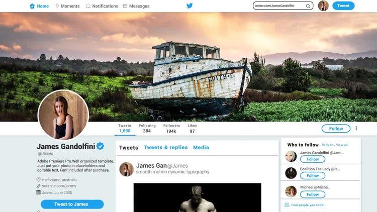 Twitter Promo V1.0: Premiere Pro Templates