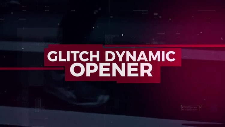 Glitch Dynamic Opener: Premiere Pro Templates