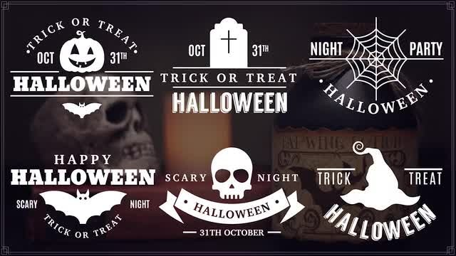 Halloween Titles: After Effects Templates