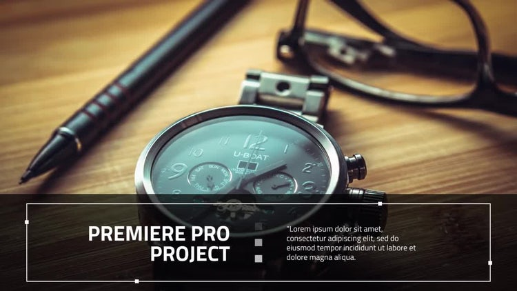 Modern Corporate: Premiere Pro Templates