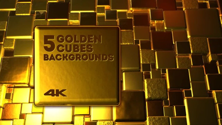 5 Golden Backgrounds: Motion Graphics