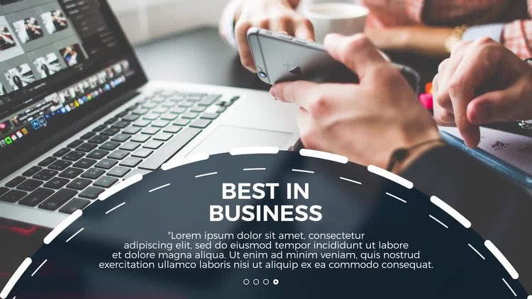 Circle Business Promo: After Effects Templates