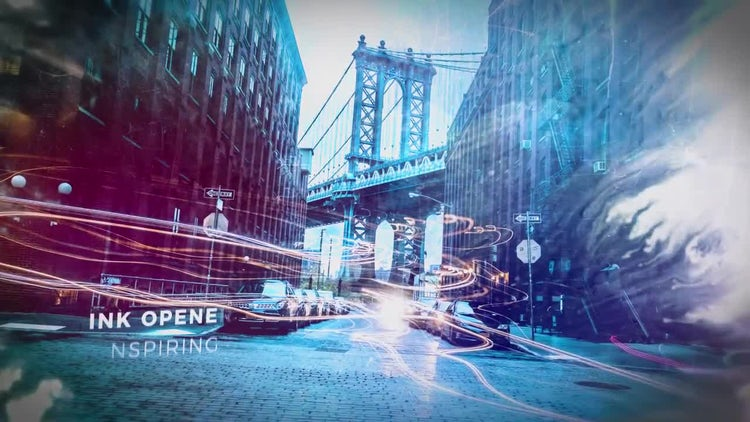 Ink Atmosphere Opener: After Effects Templates