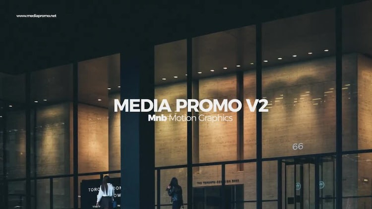 Media Promo V2: After Effects Templates