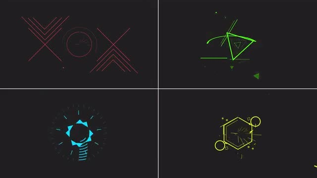 Minimal Logo Reveal 4in1: After Effects Templates