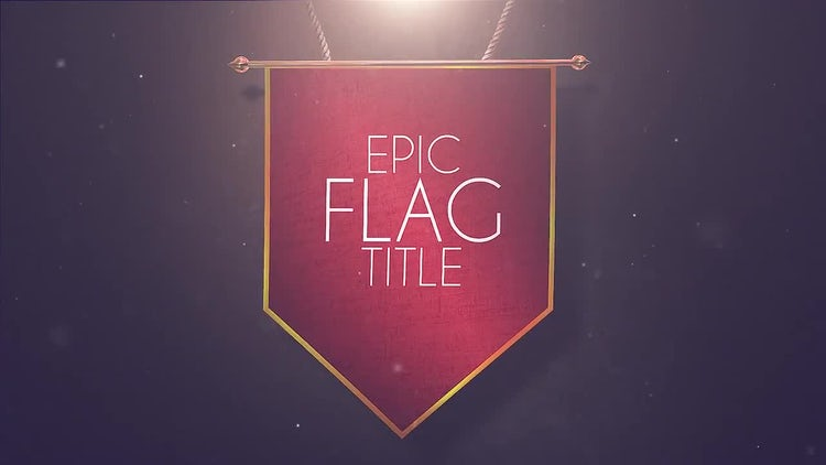 Epic Flag Titles and Lower Thirds: Motion Graphics Templates