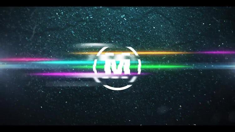 Neon Racing Logo: Premiere Pro Templates