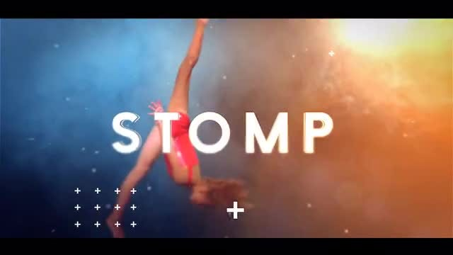 Typo Stomp Opener: After Effects Templates