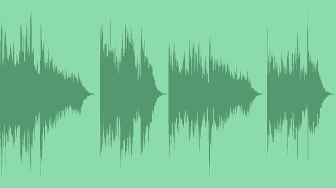 Distorted Glitch Logo: Royalty Free Music